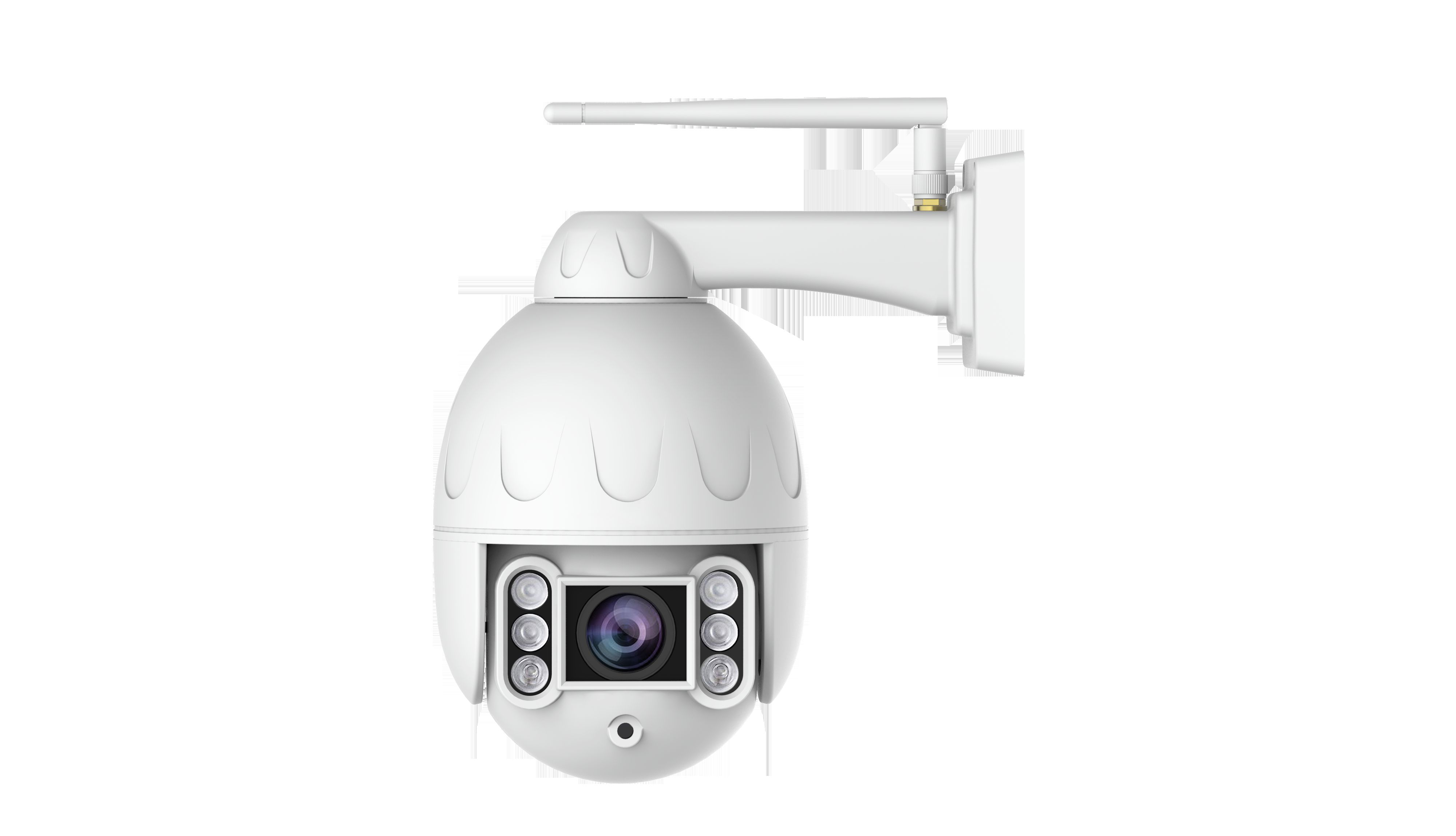 Hd surveillance camera installation